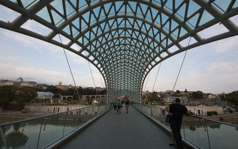 Bridge of Peace, Tbilisi