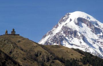 Mt. Kazbek, Kazbegi, Stepantsminda